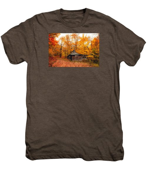 Fall At The Sugar House Men's Premium T-Shirt