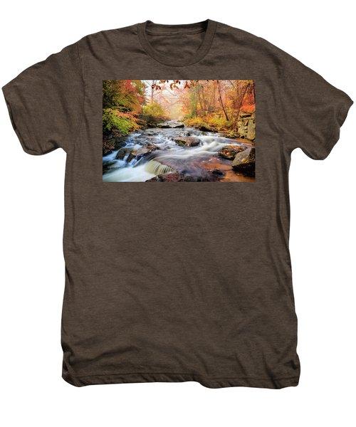 Fall Morning At Gunstock Brook Men's Premium T-Shirt