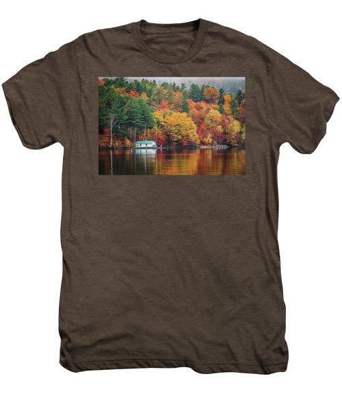 Fall On Lake Winnipesaukee Men's Premium T-Shirt