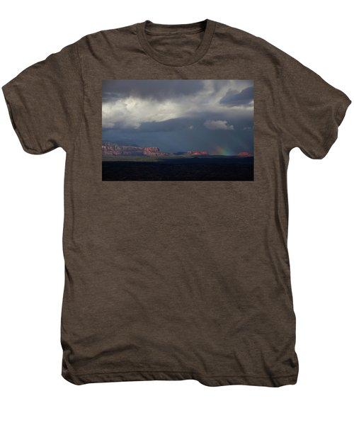 Fat Ground Rainbow, Red Rocks Sedona Men's Premium T-Shirt