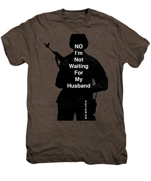 Female Veteran Men's Premium T-Shirt by Melany Sarafis