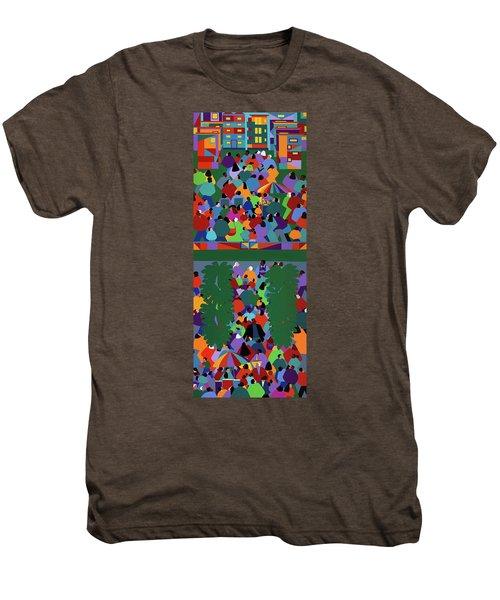 We The People Diptych Men's Premium T-Shirt