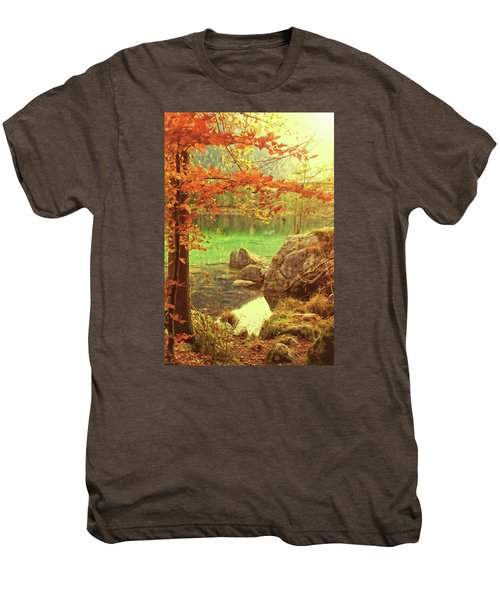 Fire And Water Men's Premium T-Shirt