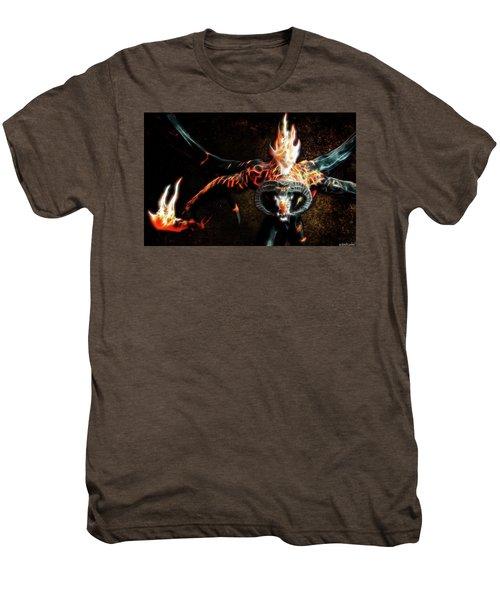 Fire Balrog Men's Premium T-Shirt