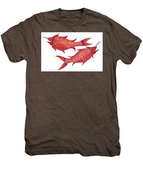 Fish Pisces Men's Premium T-Shirt