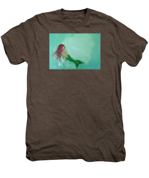 Floaty Mermaid Men's Premium T-Shirt