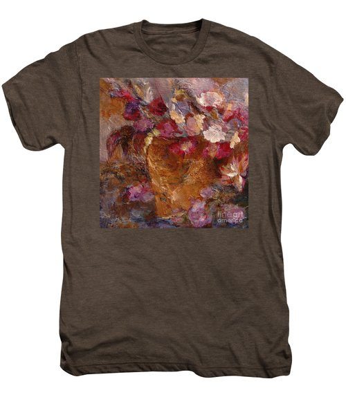 Floral Still Life Pinks Men's Premium T-Shirt