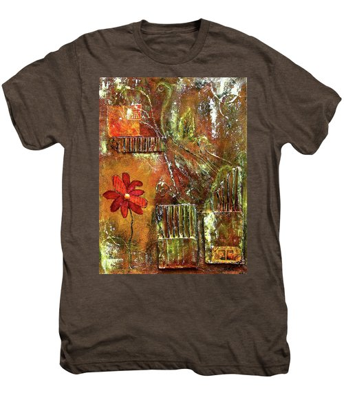 Flowers Grow Anywhere Men's Premium T-Shirt