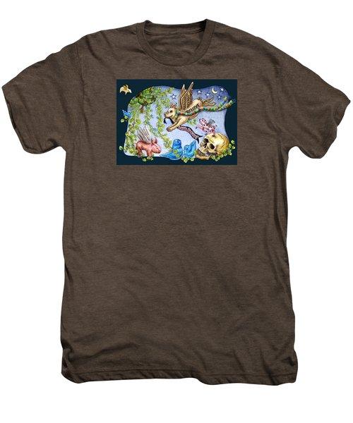 Flying Pig Party 2 Men's Premium T-Shirt