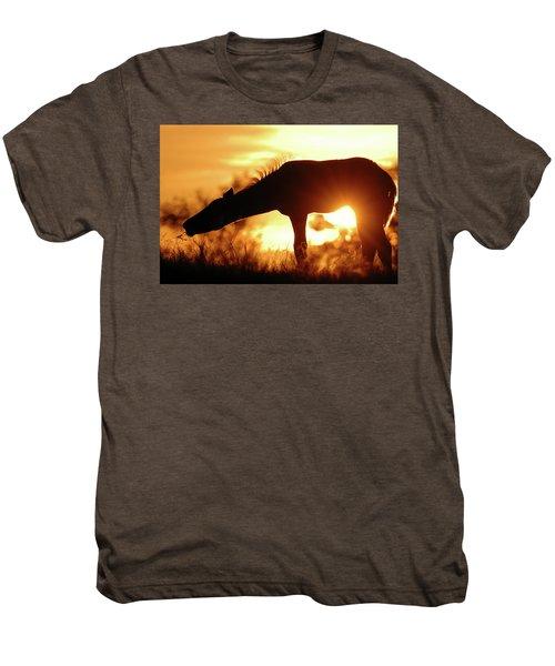 Foal Silhouette Men's Premium T-Shirt