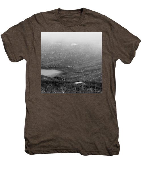 Foggy Scottish Morning Men's Premium T-Shirt