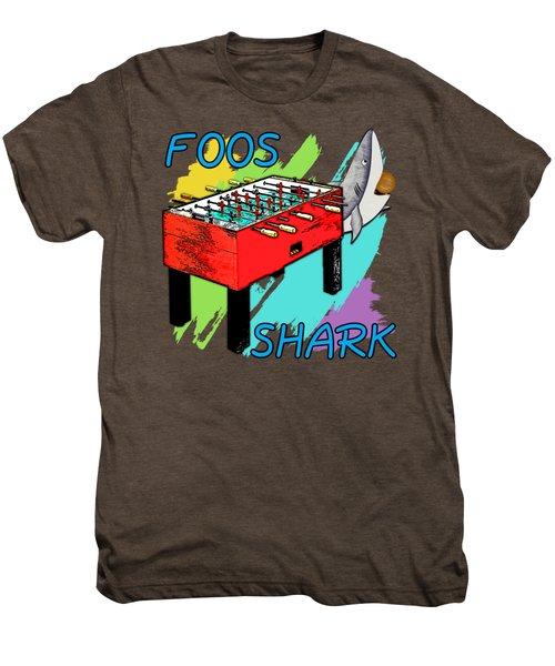 Foos Shark Men's Premium T-Shirt by David G Paul