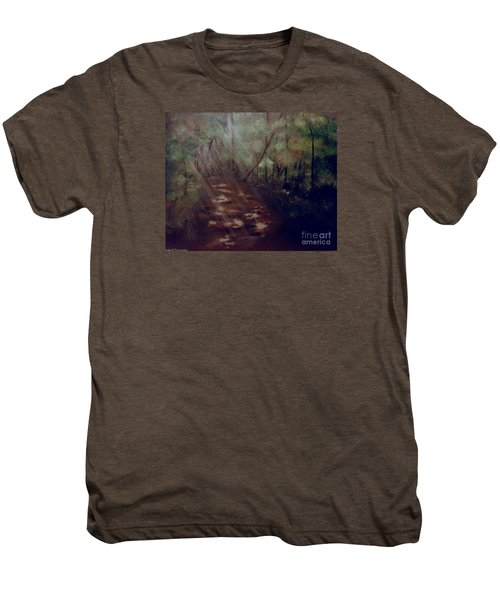 Forest Rays Men's Premium T-Shirt