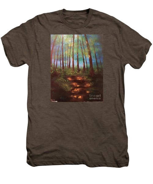 Forests Glow Men's Premium T-Shirt