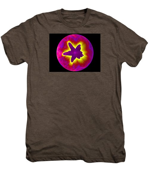 Fractal Pattern Inside A Sphere Men's Premium T-Shirt