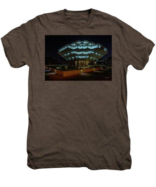 Gemstone In Concrete Men's Premium T-Shirt