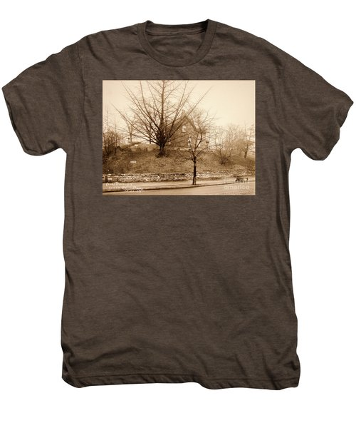 Ginkgo Tree, 1925 Men's Premium T-Shirt by Cole Thompson