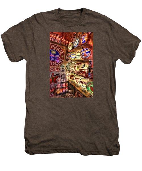 Globes Of The Past Men's Premium T-Shirt