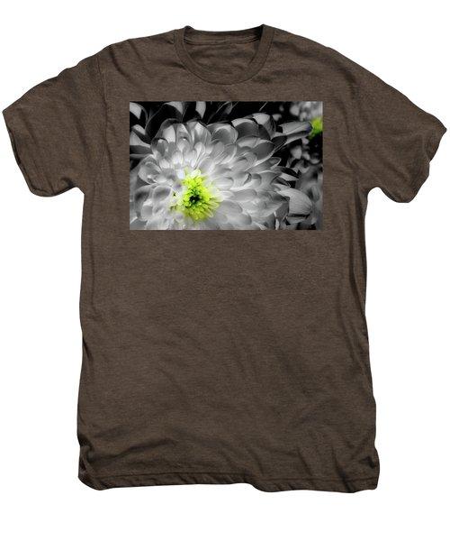 Glowing Heart Men's Premium T-Shirt