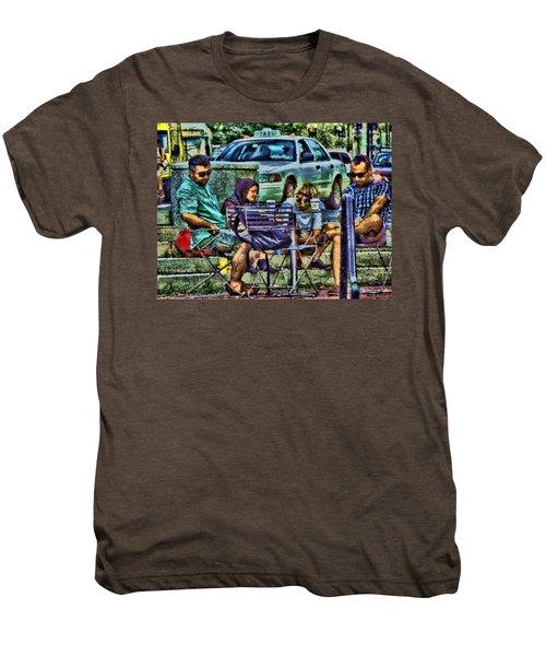 Going Places From Harvard Square Men's Premium T-Shirt