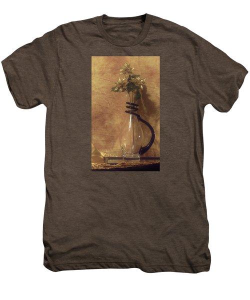 Gold Flower Vase Men's Premium T-Shirt