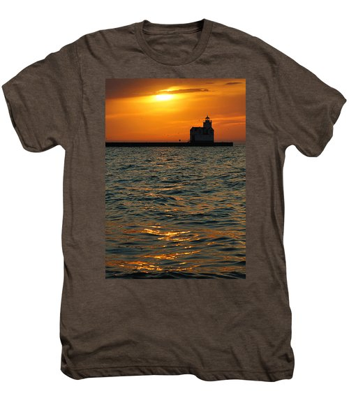 Gold On The Water Men's Premium T-Shirt