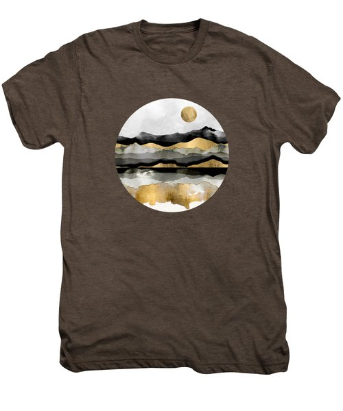 Golden Spring Moon Men's Premium T-Shirt