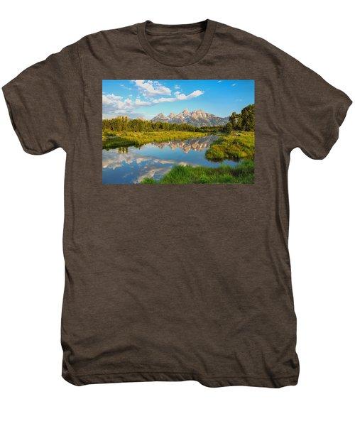 Good Morning Tetons Men's Premium T-Shirt