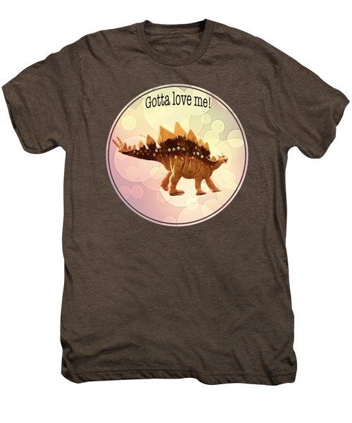Gotta Love Me Men's Premium T-Shirt by Lena  Owens OLena Art