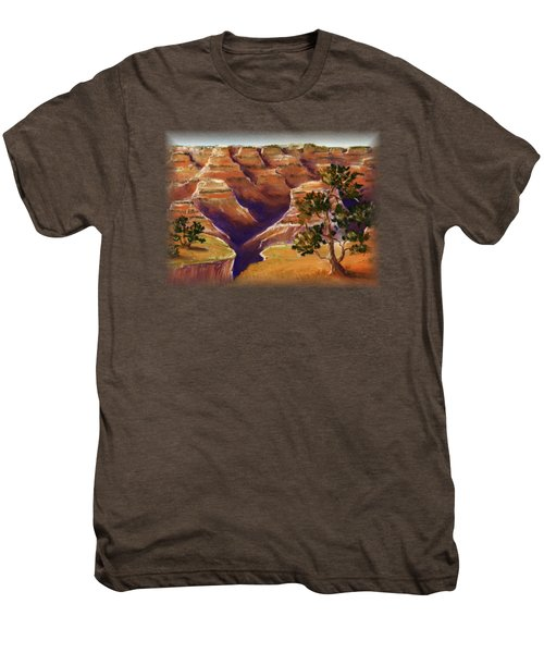 Grand Canyon Men's Premium T-Shirt by Anastasiya Malakhova