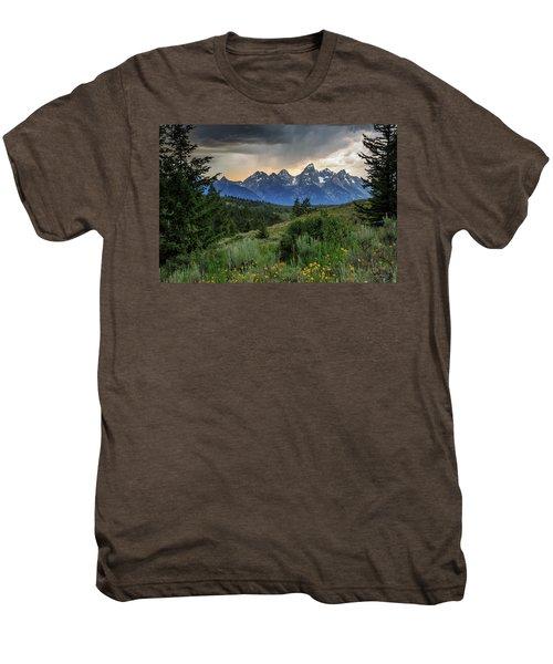 Grand Stormy Sunset Men's Premium T-Shirt
