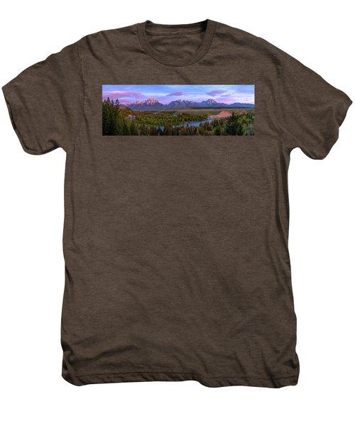 Grand Tetons Men's Premium T-Shirt