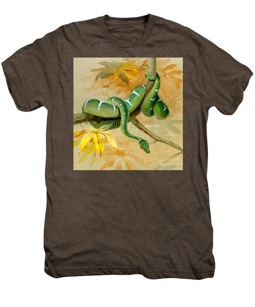 Green Boa Men's Premium T-Shirt