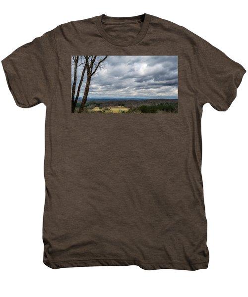 Grey Skies Men's Premium T-Shirt