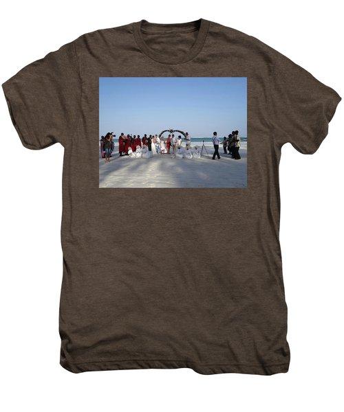 Group Wedding Photo Africa Beach Men's Premium T-Shirt