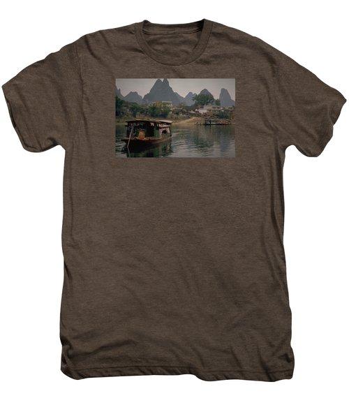 Guilin Limestone Peaks Men's Premium T-Shirt