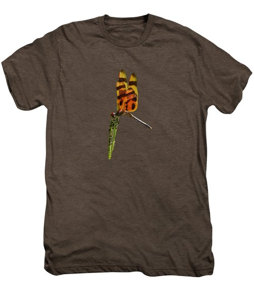 Halloween Pennant Dragonfly .png Men's Premium T-Shirt