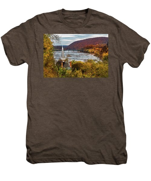 Harpers Ferry, West Virginia Men's Premium T-Shirt