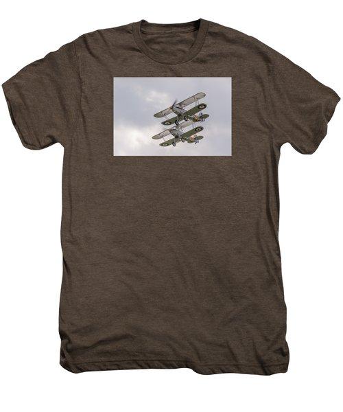 Hawker Nimrods Men's Premium T-Shirt by Gary Eason