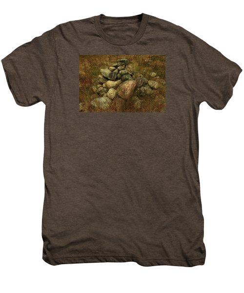Heap Of Rocks Men's Premium T-Shirt by Nareeta Martin