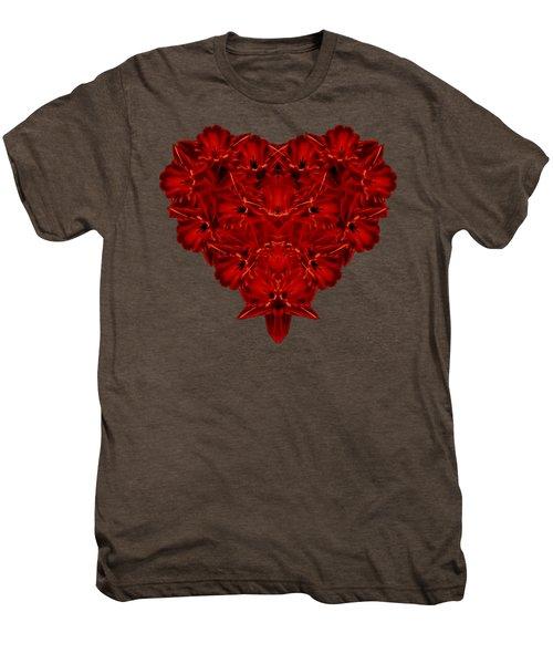 Heart Of Flowers T-shirt Men's Premium T-Shirt