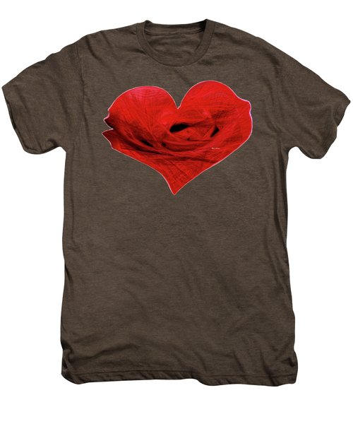 Heart Sketch Men's Premium T-Shirt