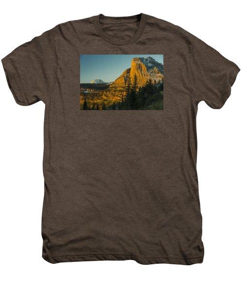 Heavy Runner Mountain Men's Premium T-Shirt