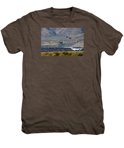 Here's Looking Back At You.  T6 Race. Men's Premium T-Shirt