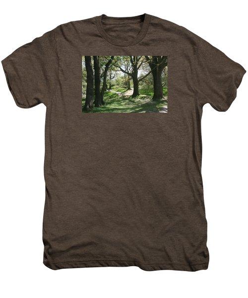 Hill 60 Cratered Landscape Men's Premium T-Shirt