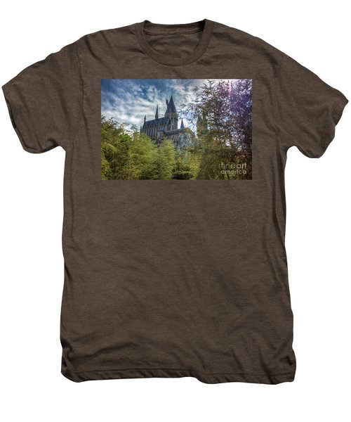 Hogwarts Castle Men's Premium T-Shirt
