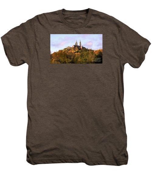 Holy Hill Basilica, National Shrine Of Mary Men's Premium T-Shirt