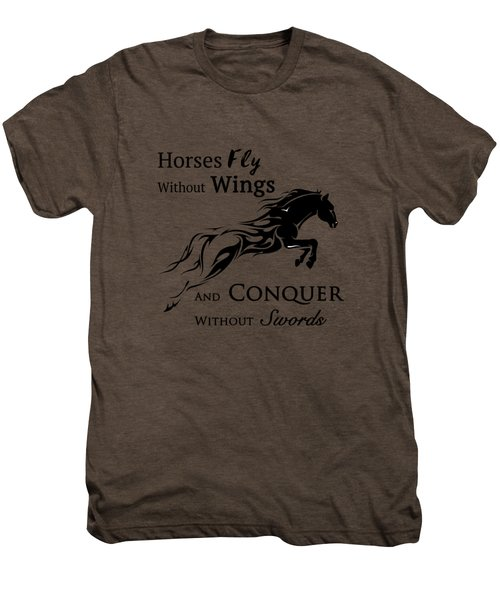Horses Fly Men's Premium T-Shirt