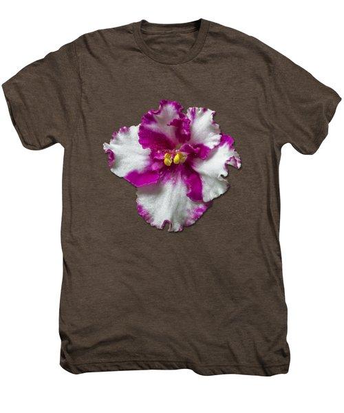 Hot Pink Flower Men's Premium T-Shirt
