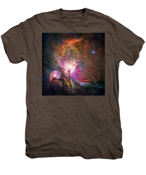 Hubble's Sharpest View Of The Orion Nebula Men's Premium T-Shirt